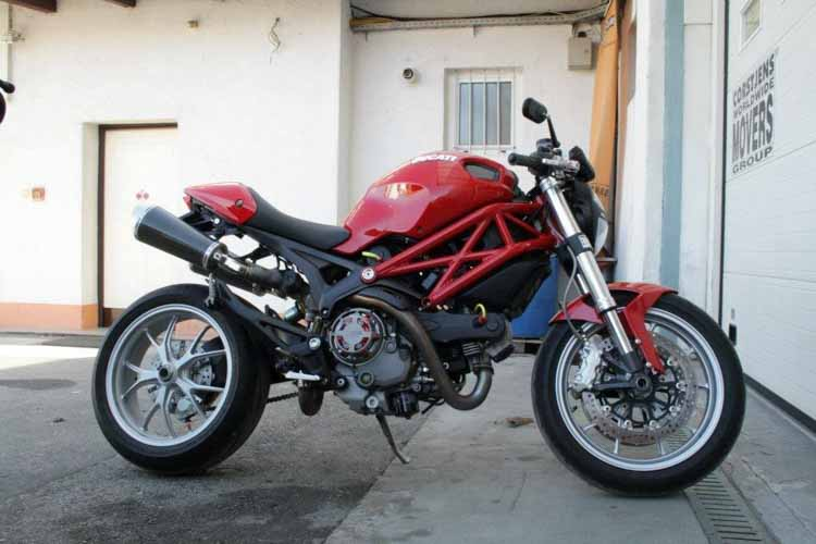 Tomic Custom Bike - Ducati