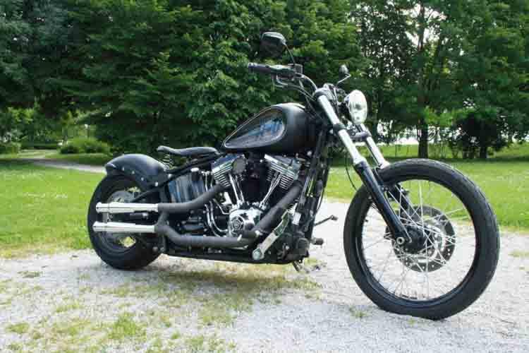 Tomic Custom Bike - Prerade - Blackline