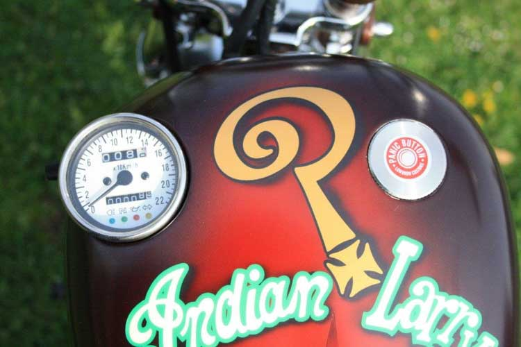 Tomic Custom Bike - Prerade - Lary