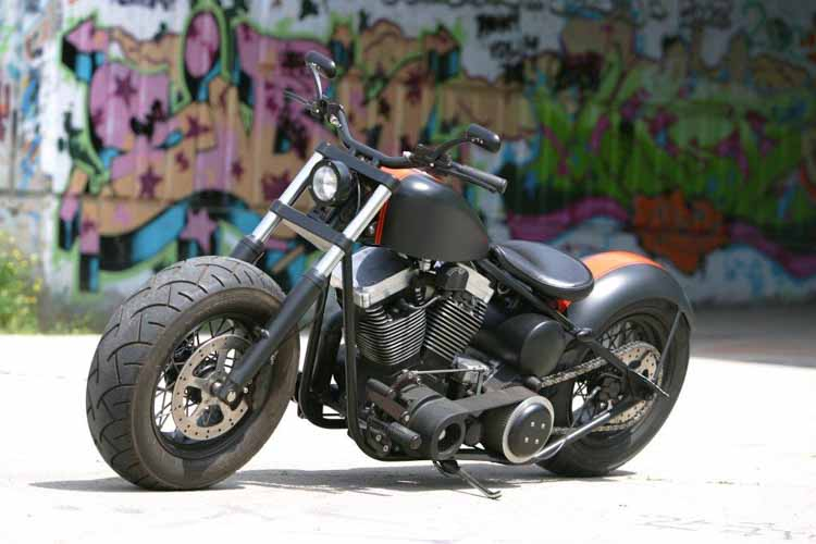 Tomic Custom Bike - Bullfighter