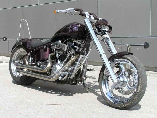 Tomic Custom Bike - Dragon