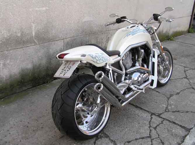 Tomic Custom Bike - Prerade - Street Rod