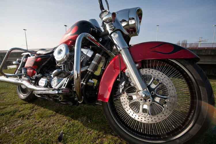 Tomic Custom Bike - Prerade - Flame