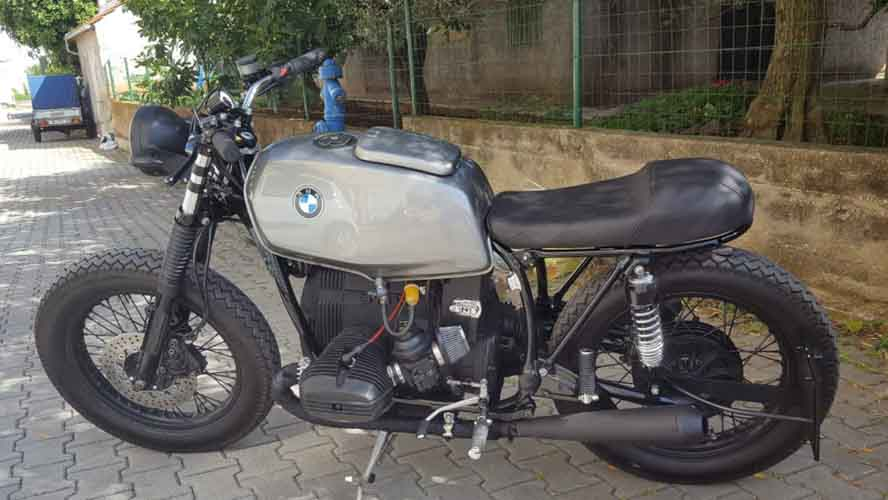 Tomic Custom Bike - Caffe - BMW