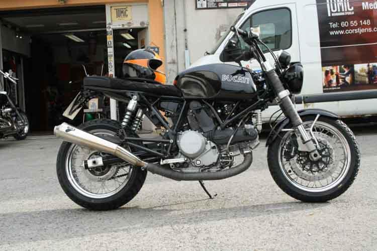Tomic Custom Bike - Caffe - GT