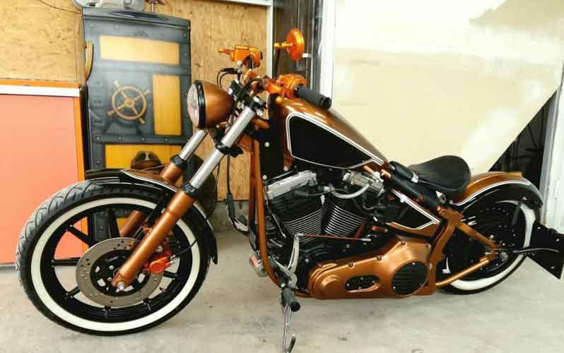 Tomic Custom Bike - Mr Copperpot