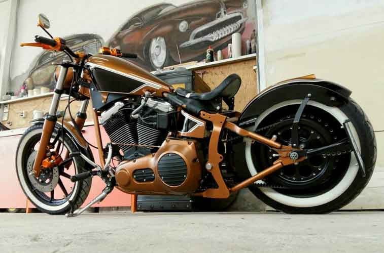 Tomic Custom Bike - Mr Copperpot