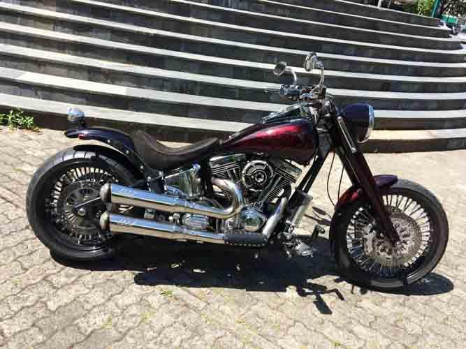 Tomic Custom Bike - Mr Odin