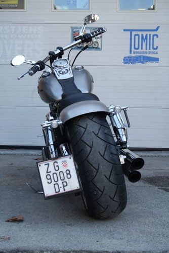Tomic Custom Bike - Prerade - Fat Bob
