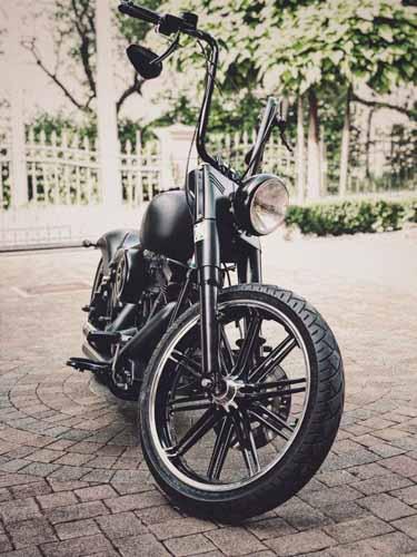 Tomic Custom Bike - Prerade - Fat Boy