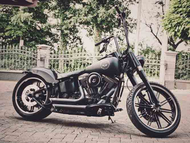 Tomic Custom Bike - Prerade - Fat Boy