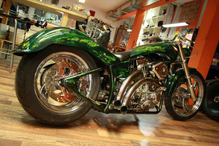 Tomic Custom Bike - Prerade - Godzila