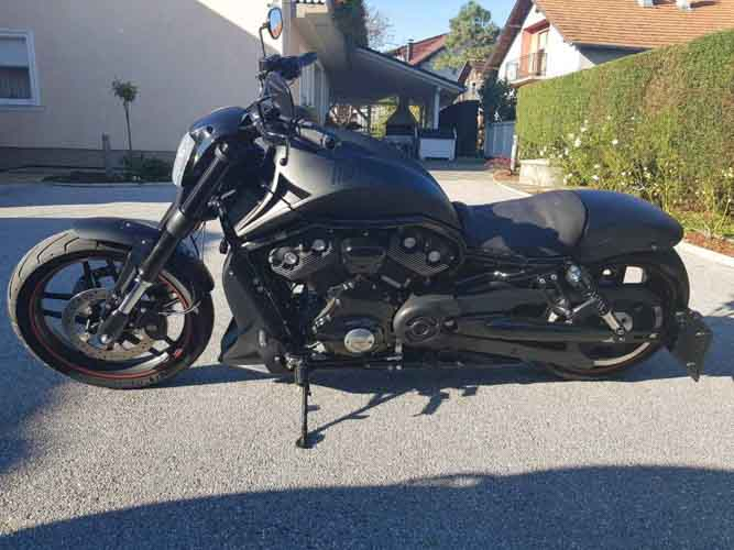 Tomic Custom Bike - Prerade - Night Rod S