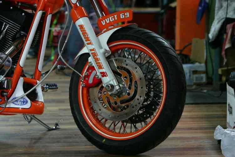 Tomic Custom Bike - Prerade - Nighttrain R