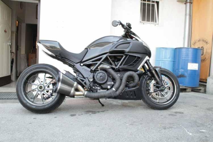 Tomic Custom Bike - Ducati