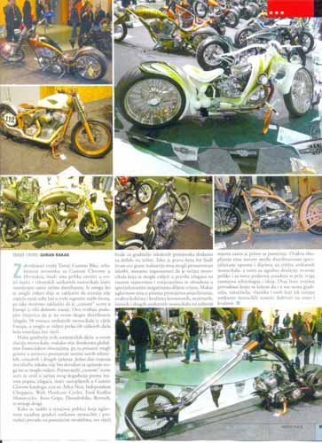Tomic Custom Bike - Press