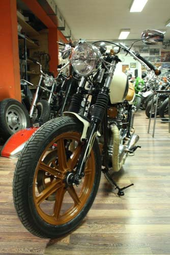Tomic Custom Bike - Caffe - Padre