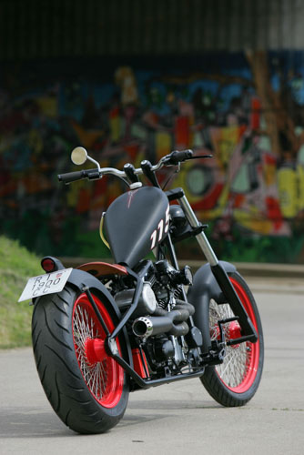 Tomic Custom Bike - Chilli Chop