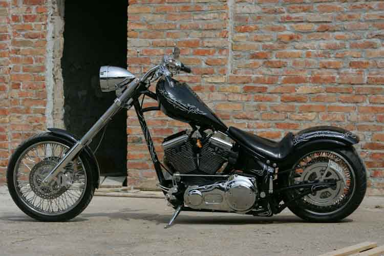 Tomic Custom Bike - Mr Jack