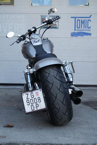 Tomic Custom Bike - Prerade - Fat Bob