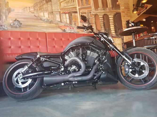 Tomic Custom Bike - Prerade - Night Rod S